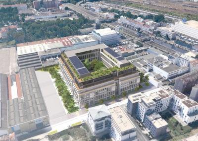 Saint Denis Immeuble de bureaux R+8