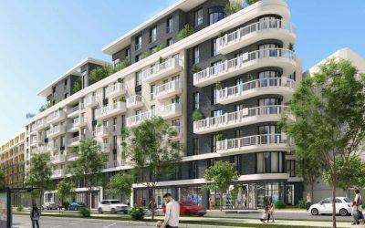 Saint Ouen – ilôt R8C – construction de 80 logements