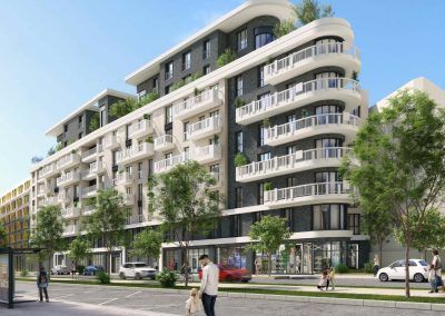 Saint Ouen – ilôt R8C – construction de 80 logements